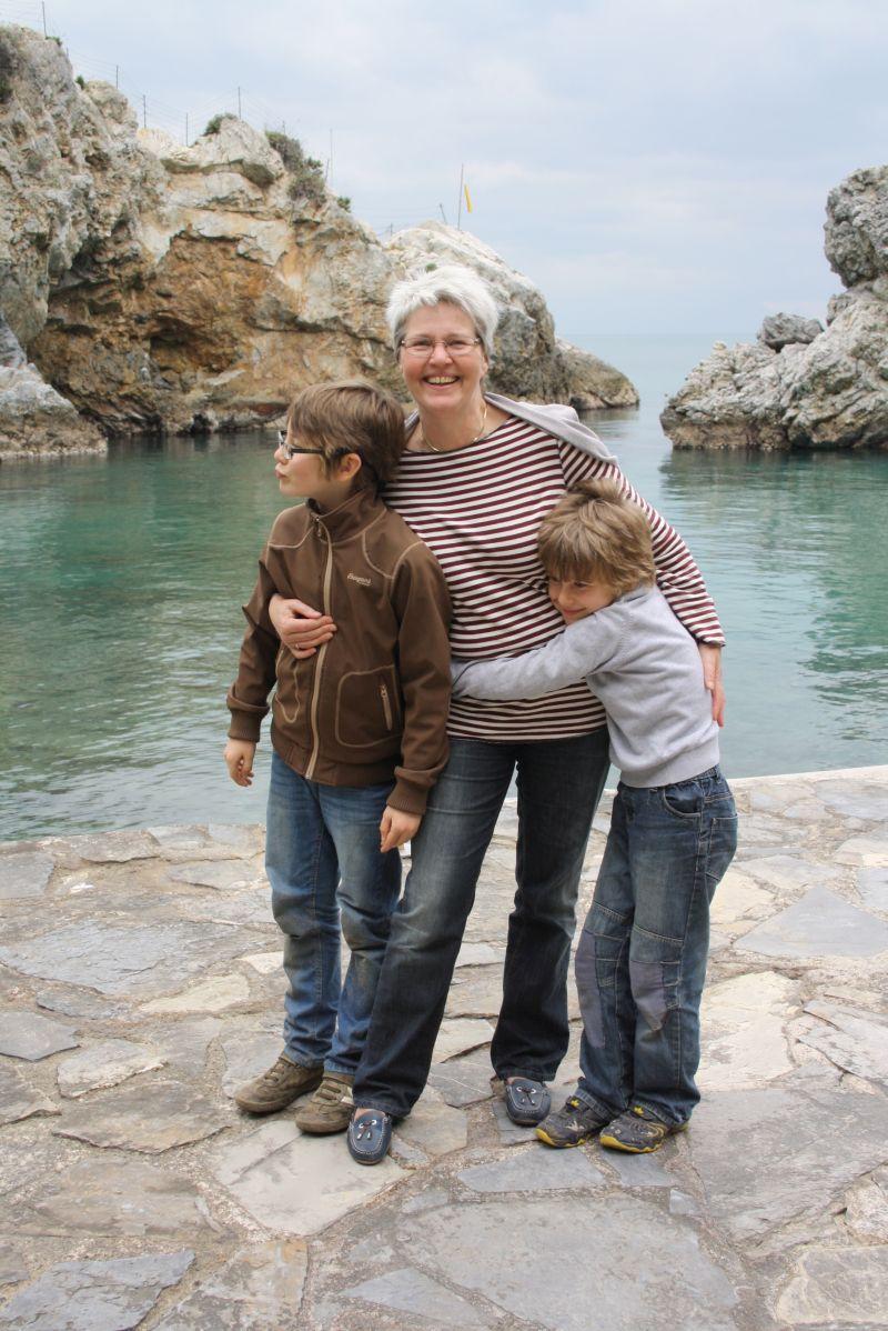 Zuletzt haben wir gemeinsam in Kusadasi in der Türkei Urlaub gemacht, als Oma und Opa uns auf unserer großen Reise besucht haben.