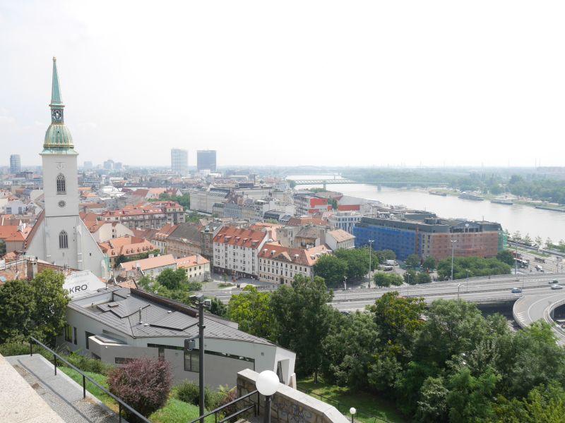 Bratislava, Slowakei mit Kindern
