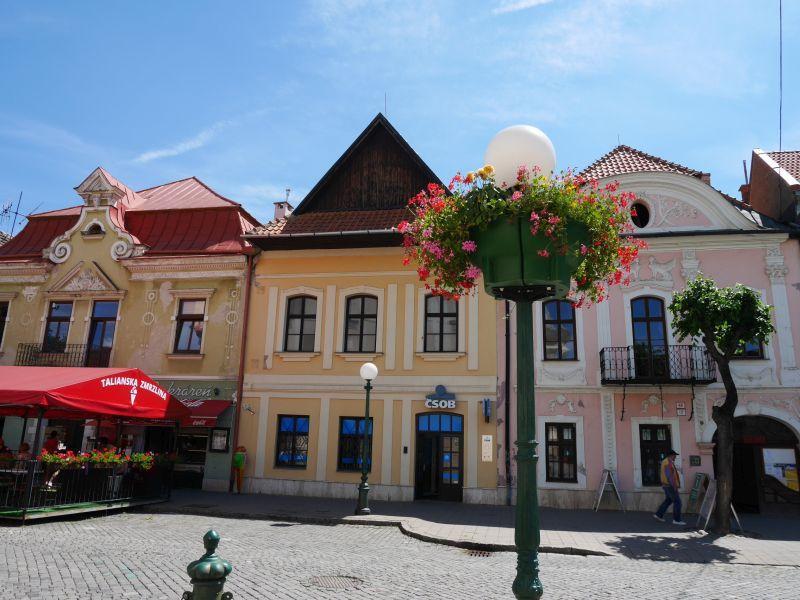 Kezmarok, Slowakei mit Kindern