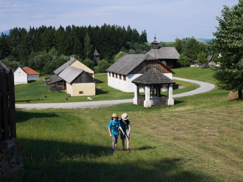 Freilichtmuseum Martin, Slowakei mit Kindern
