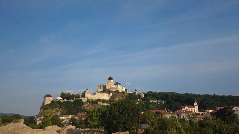 Trencin, Burg, Familienurlaub in der Slowakei