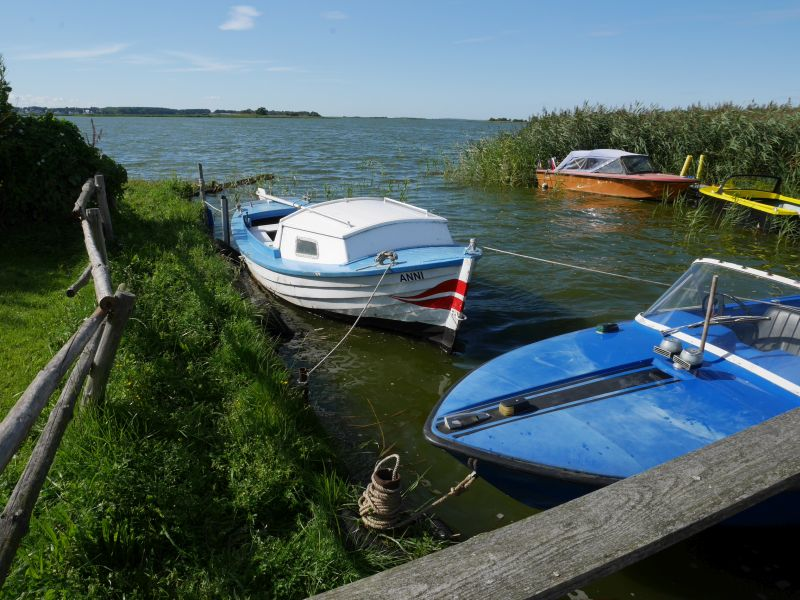 Boote in Neppermin, Usedom