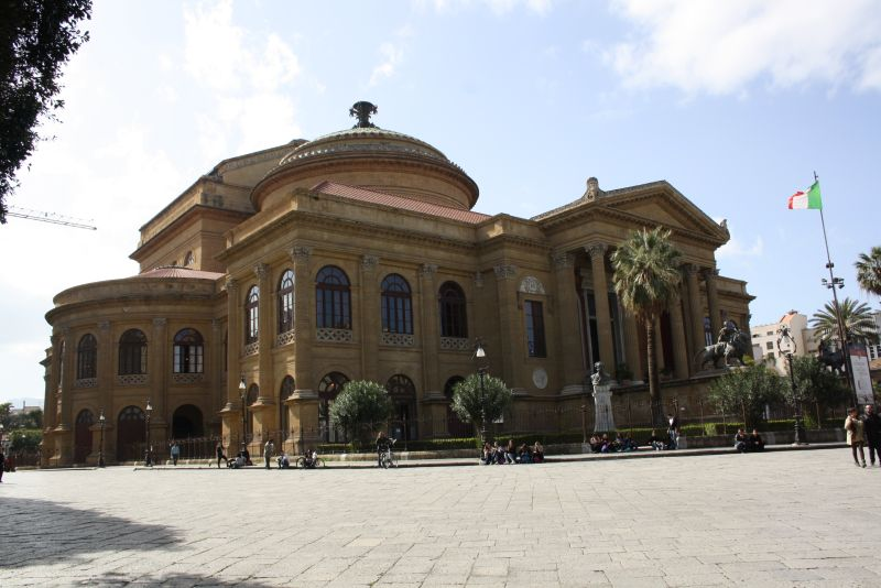 Oper Palermo, Sizilien