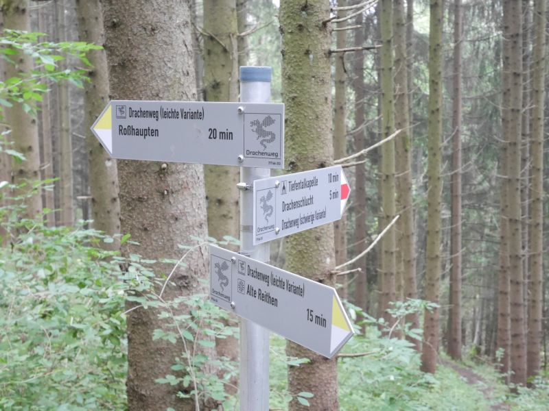 Wandern mit Kindern im Allgäu, Drachenweg Roßhaupten