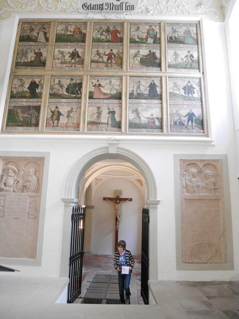 Allgäu mit Kindern, Füssen, Museum, Totentanz