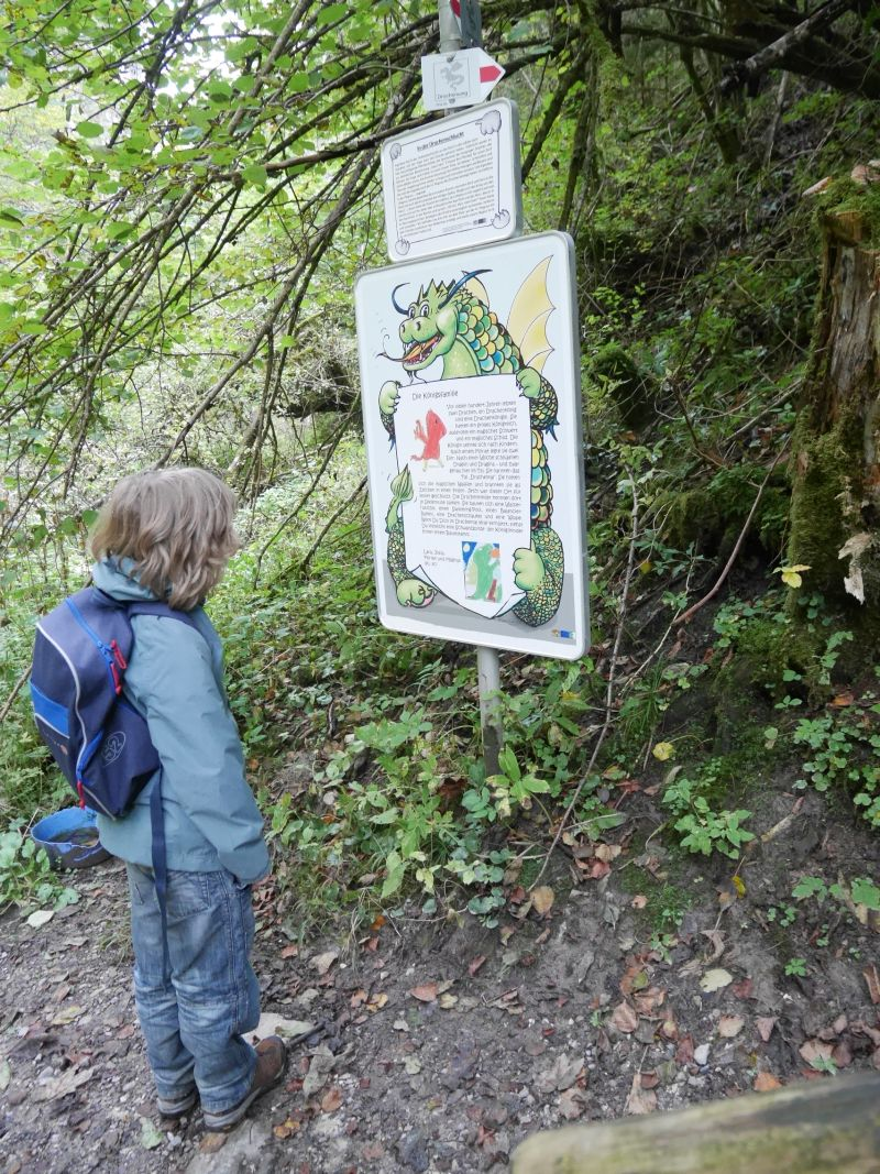 Drachenweg, Roßhaupten, Wandern mit Kindern im Allgäu