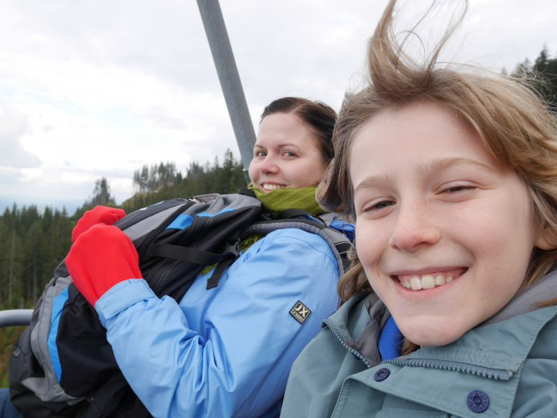 Allgäu mit Kindern und Königscard, Sessellift Alpspitzbahn