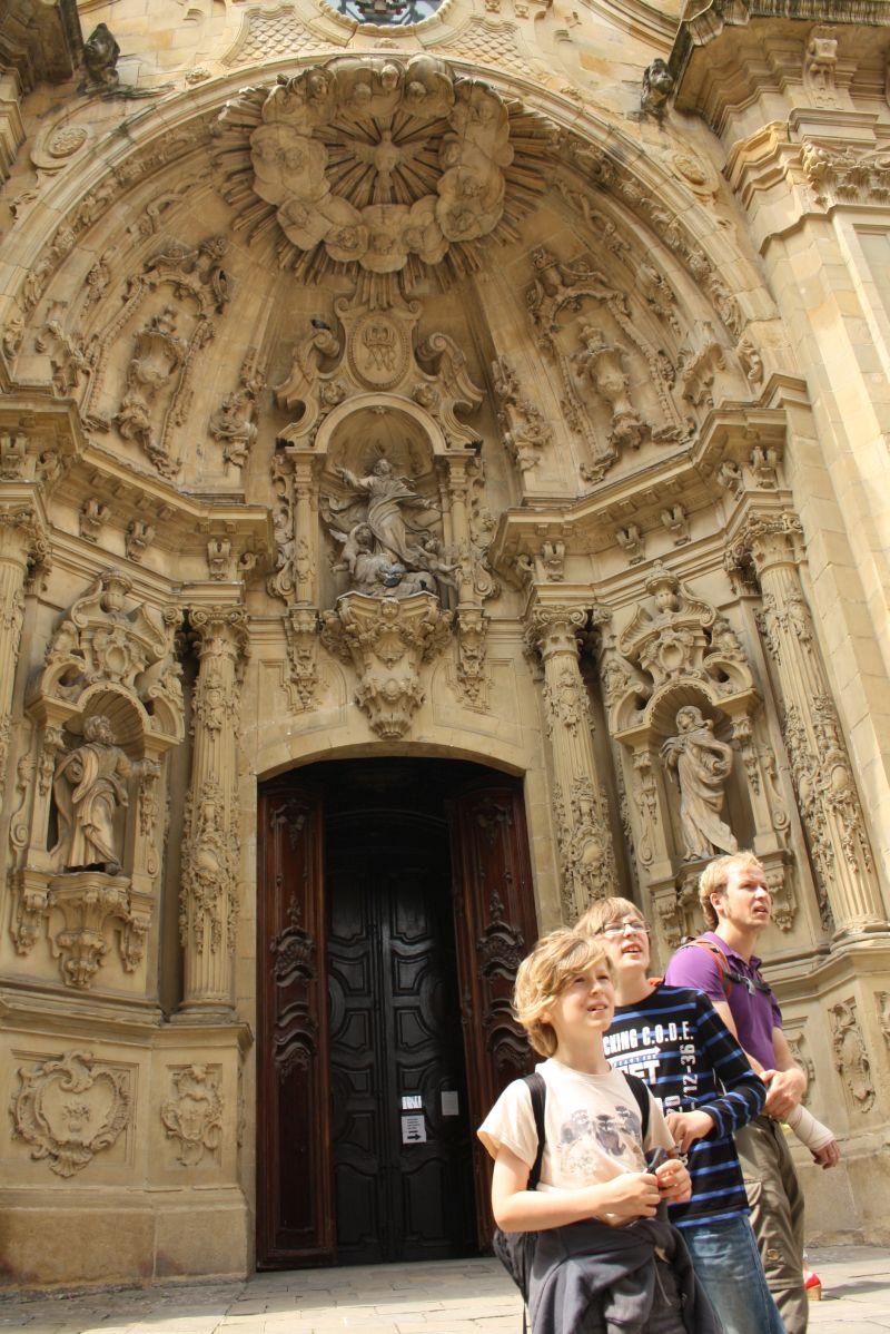 Santa María del Coro, San Sebastian, Baskenland
