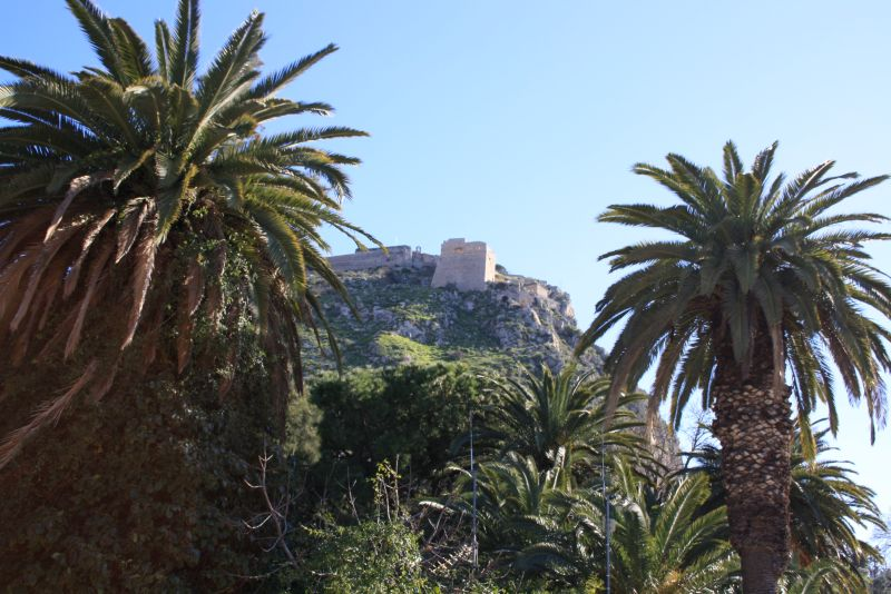 Nafplion, Peloponnes, Griechenland, Festung Palamidi