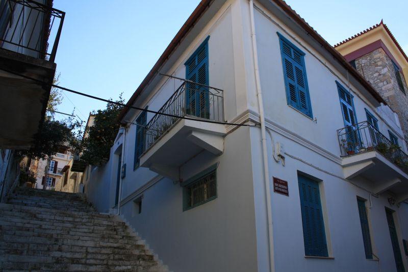 Nafplion, Peloponnes, Griechenland, Treppen