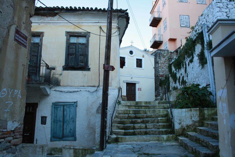 Nafplion, Peloponnes, Griechenland, Seitengassen