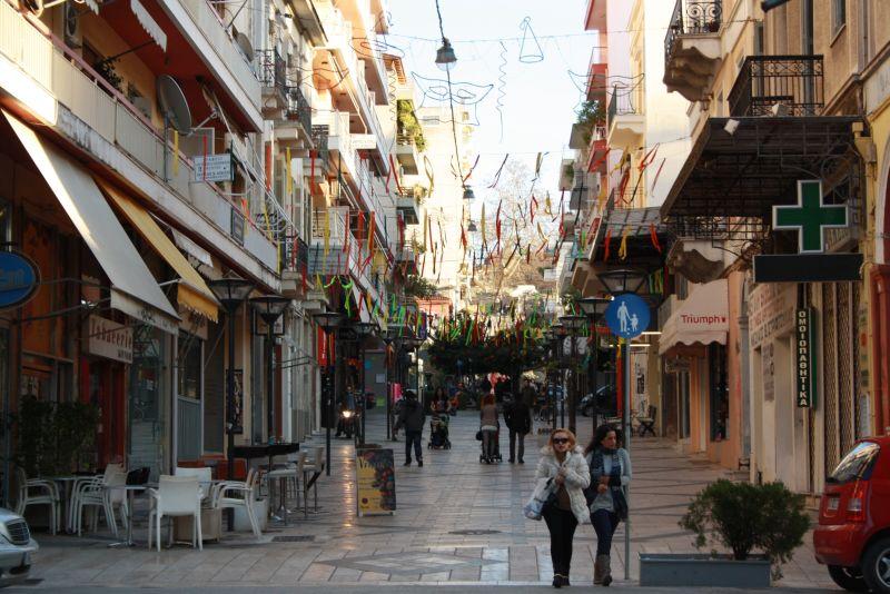 Karneval in Patras, Innenstadt, Griechenland, Peloponnes