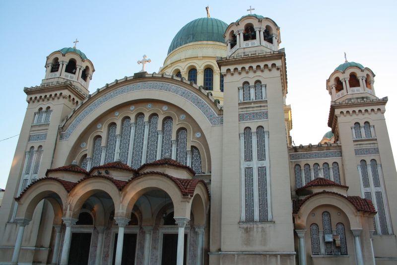Aigos Andreas Kirche Patras