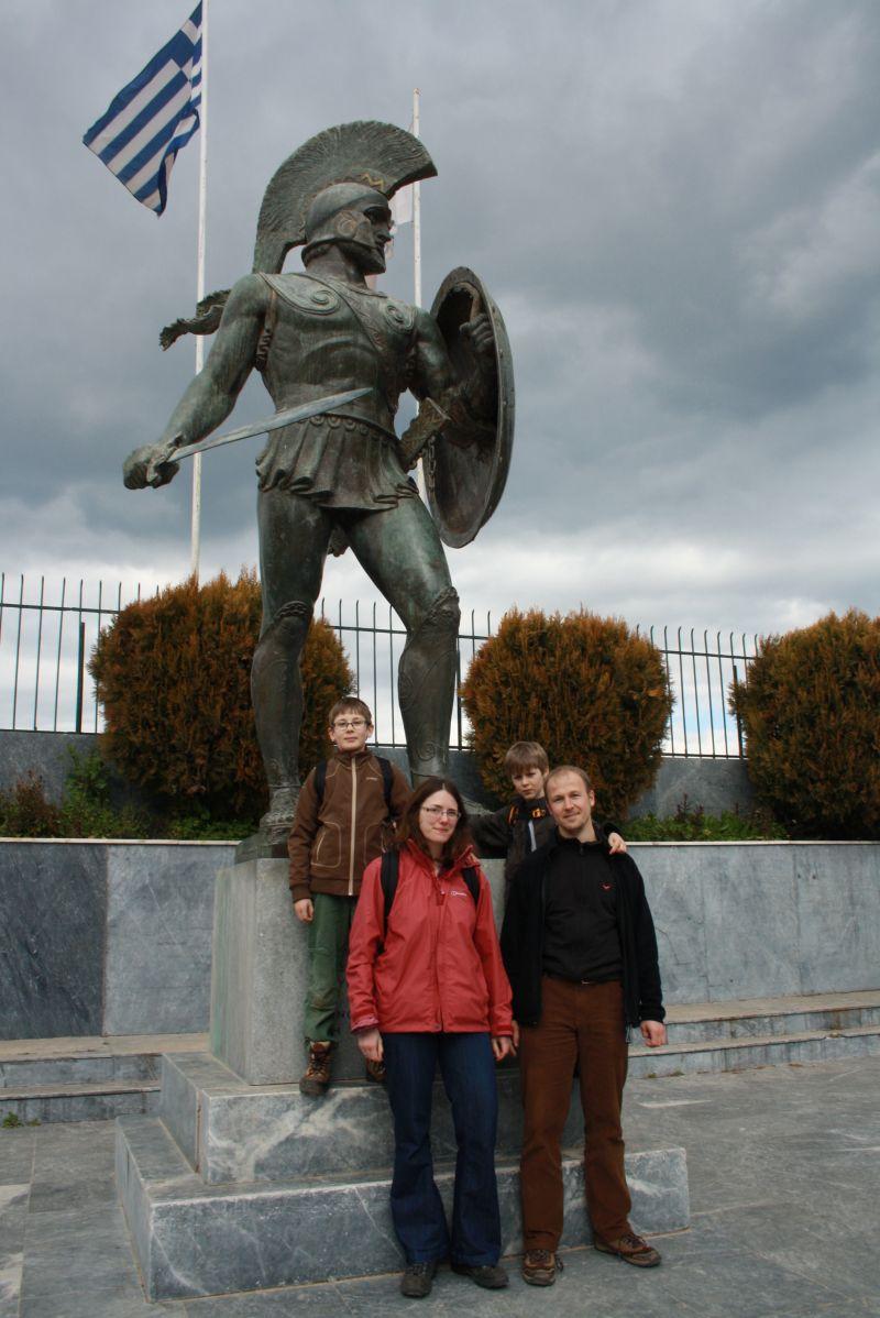 Leonidas-Denkmal Sparta