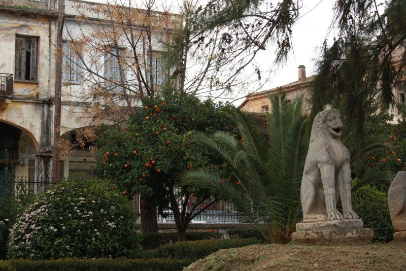 Sparta, Park am Archäologischen Museum