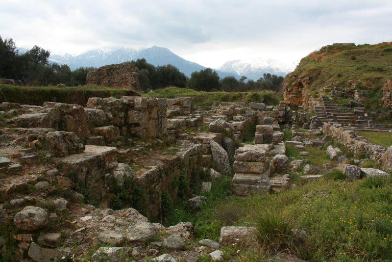 Ruinenfeld Sparta, Amphitheater