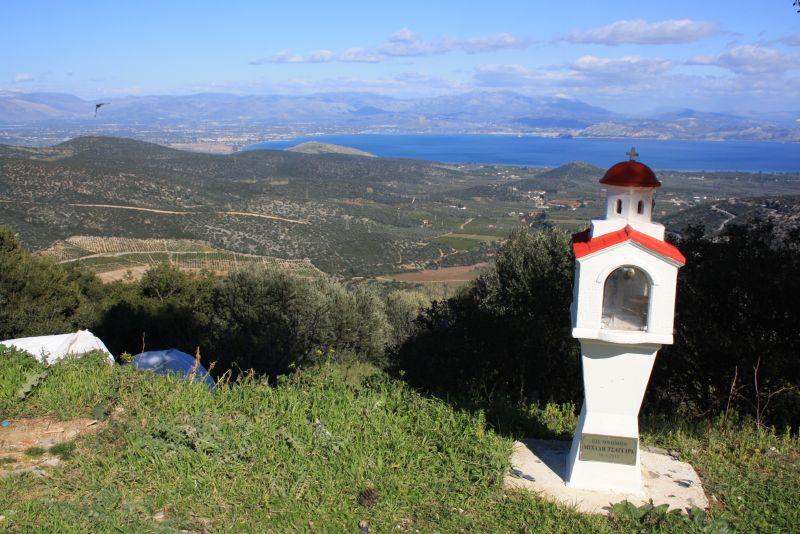 Urlaub auf dem Peloponnes mit Kindern, Ausblick und Müll