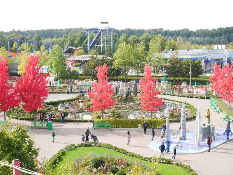 Legoland Deutschland, Miniland von oben