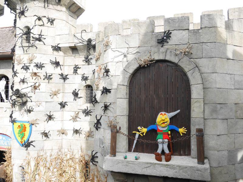 Halloweeks in der Ritterburg im Legoland Deutschland mit älteren Kindern