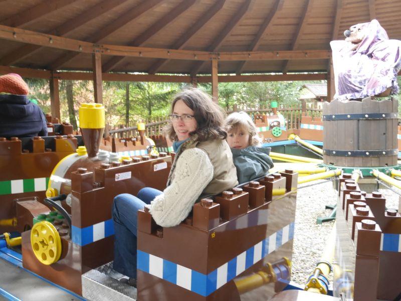 Raupenritt, Legoland Deutschland mit größeren Kindern
