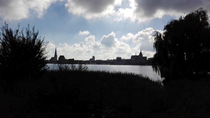 Rostock an der Warnow.