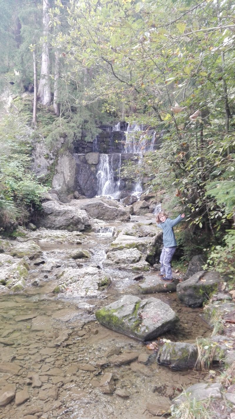 Wandern mit Kindern im Allgäu, Höllschlucht