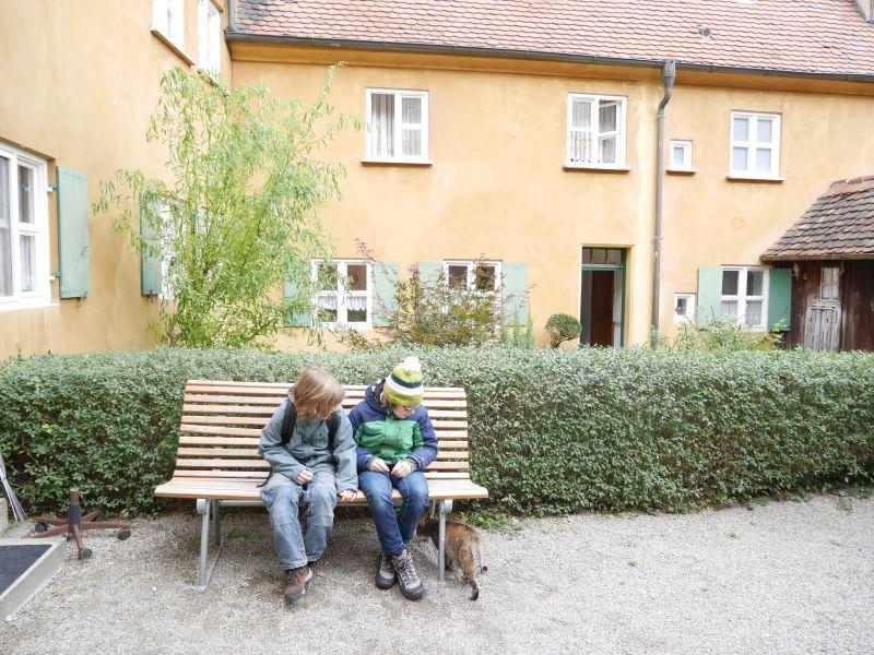 Augsburg mit Kindern, Fuggerei