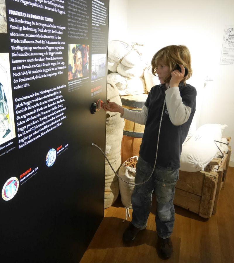 Augsburg mit Kindern, Fugger und Walser Erlebnismuseum