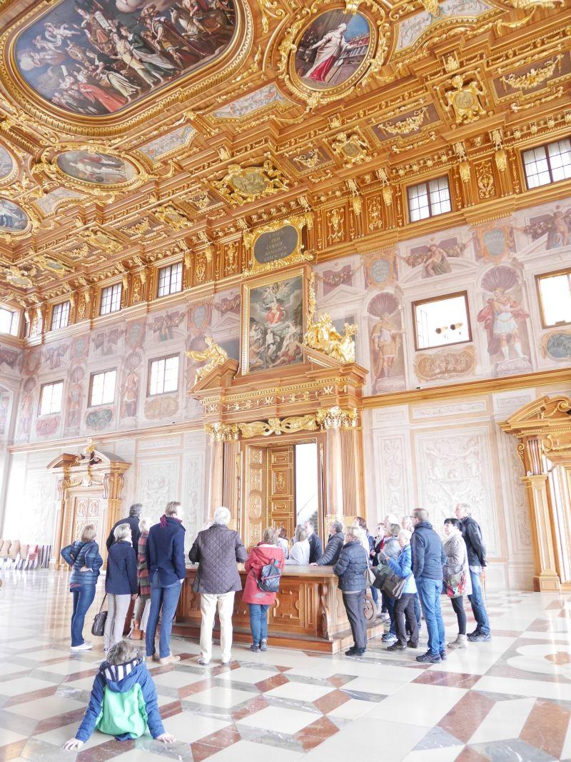 Augsburg mit Kindern, Stadtführung, Goldener Saal