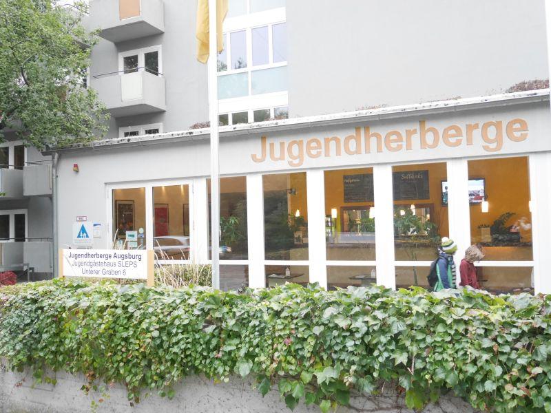 Augsburg mit Kindern, Jugendherberge Augsburg