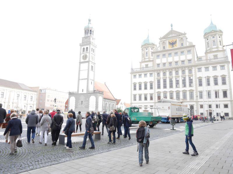 Augsburg mit Kindern, Stadtführung, Rathaus