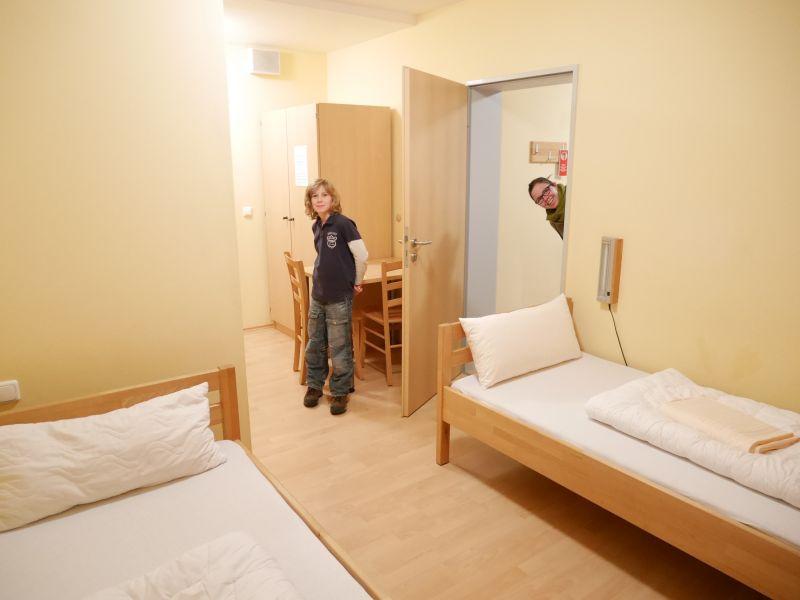 Augsburg mit Kindern, Jugendherberge Familienzimmer
