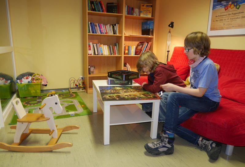 Augsburg mit Kindern, Jugendherberge Spielzimmer