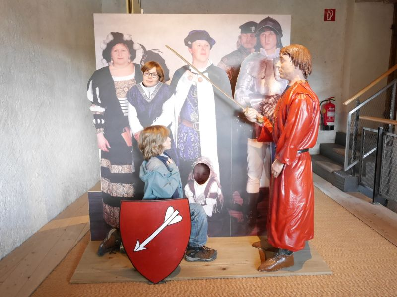 """""""Dem Ritter auf der Spur"""", Burgenwelt Ehrenberg, Reutte, Österreich"""