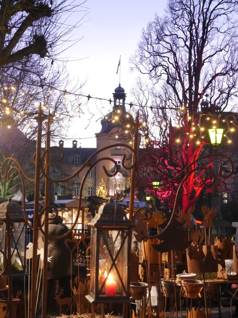 Weihnachtszauber Schloss Bückeburg mit Kindern, stimmungsvoll