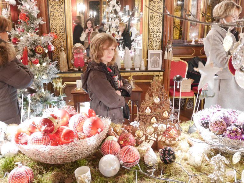 Weihnachtszauber Schloss Bückeburg mit Kindern, Deko