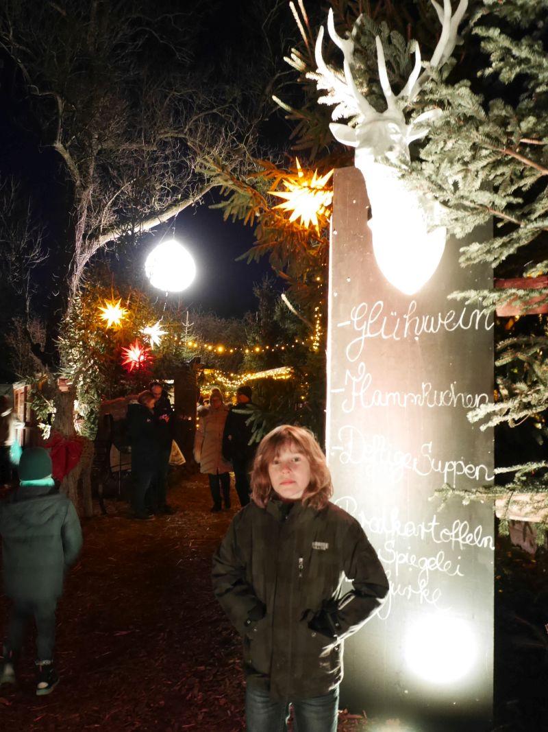 Weihnachtszauber Schloss Bückeburg mit Kindern, Winterwald