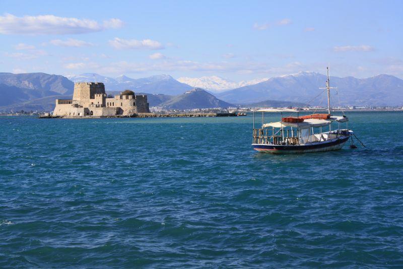 Nafplion, Peloponnes, Griechenland, Festung Bourtzi