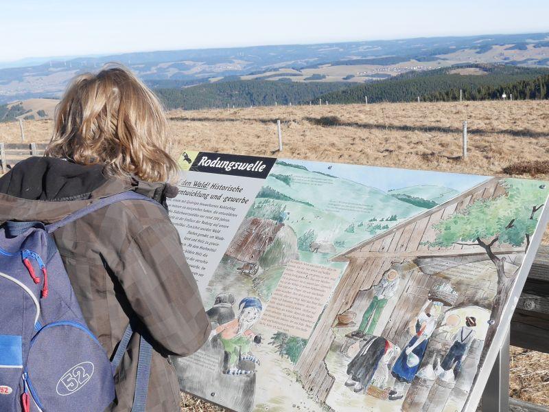 Familienurlaub im Schwarzwald, Feldberger Hof, Feldberg-Gipfel