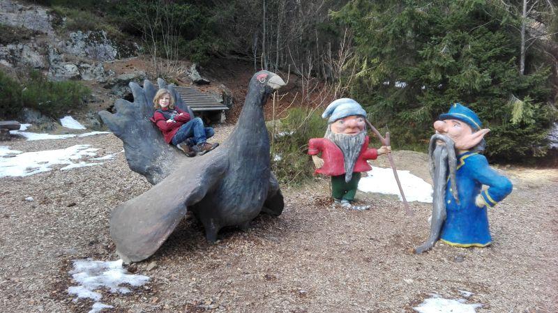 Familienurlaub im Schwarzwald, Feldberger Hof, Wandern mit Kindern, Wichtelpfad Auerhahn