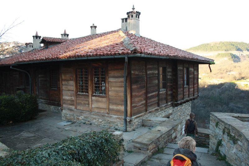 Weliko Tarnowo (Veliko Tarnovo), altes Haus aus der Zeit der bulgarischen Wiedergeburt