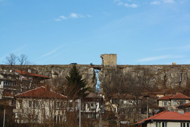Weliko Tarnowo (Veliko Tarnovo), natürliche Festung mit Zugbrücke