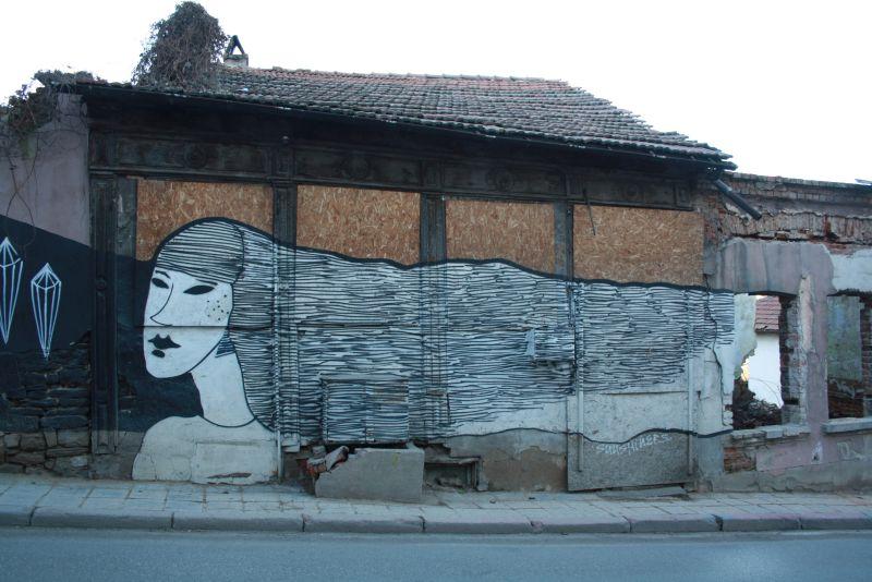 Weliko Tarnowo (Veliko Tarnovo), Streetart