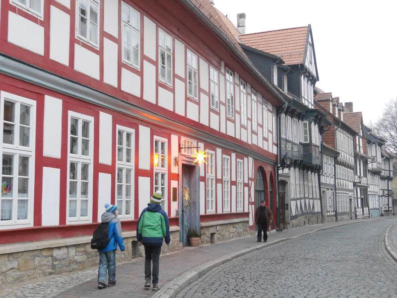 Hildesheim mit Kindern, Hinterer Brühl, Stadtbild