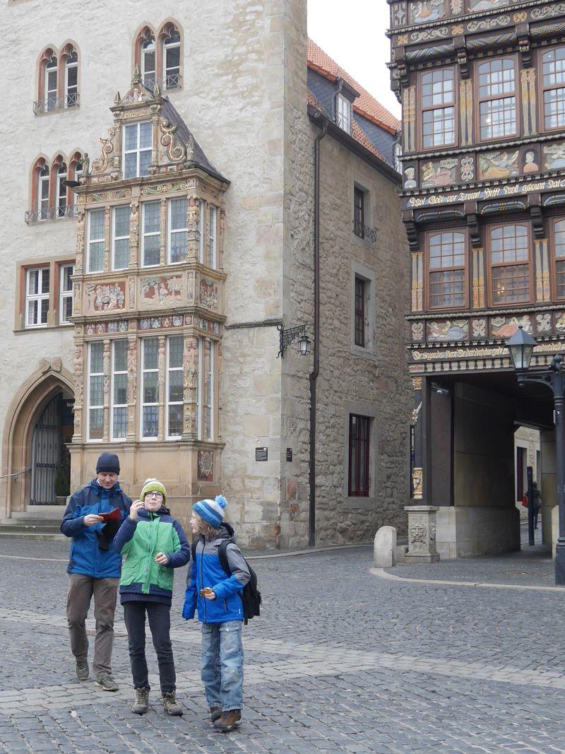 Hildesheim mit Kindern, Hanse-Code