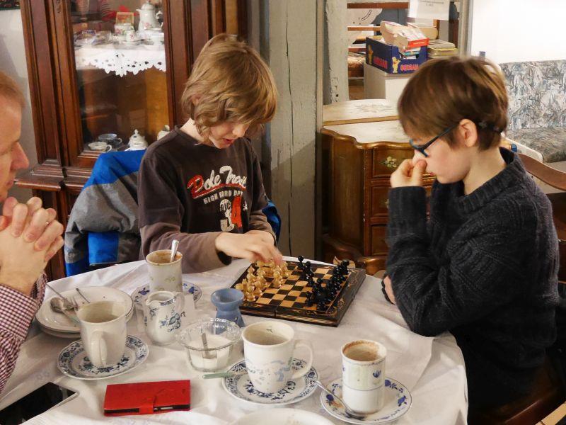 Kafenion Hildesheim, Café innen