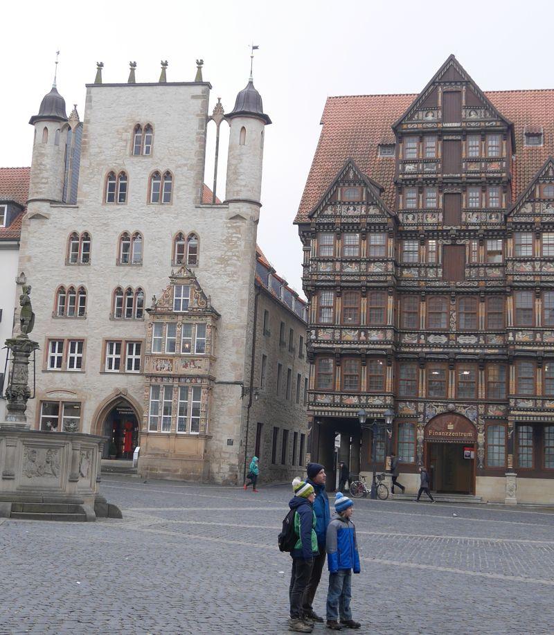 Hildesheim mit Kindern, Marktplatz