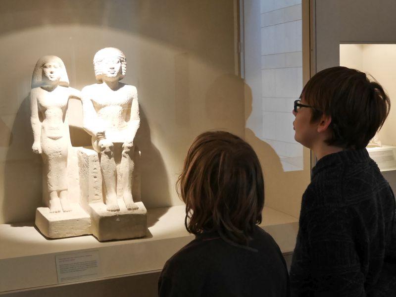 Hildesheim mit Kindern, Roemer- und Pelizaeus-Museum