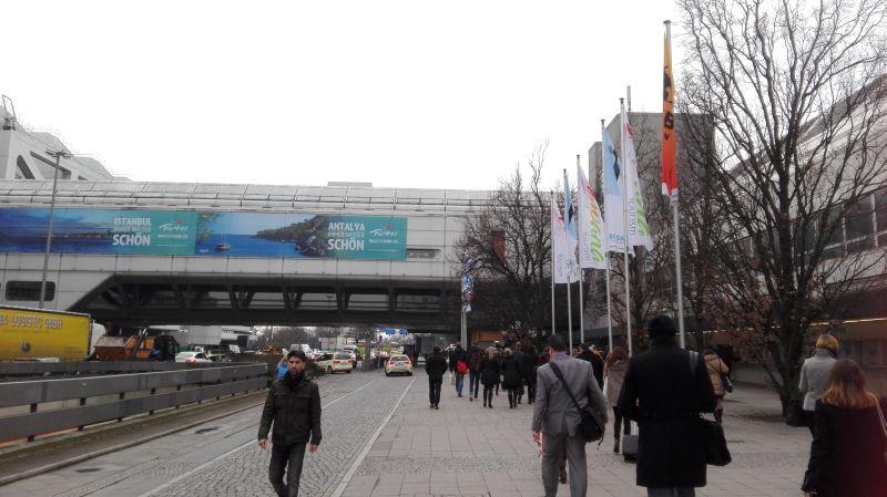 Türkei-Werbung auf der ITB Berlin.