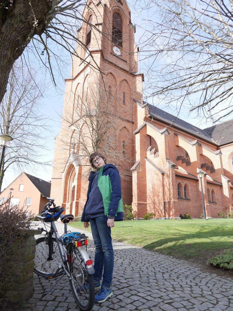 Fahrradfahren im Schaumburger Land, LandTour Bückeburg